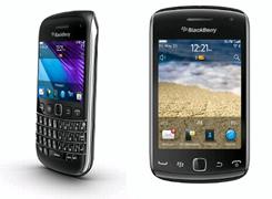 BlackBerry Bold 9790 y el BlackBerry Curve 9380