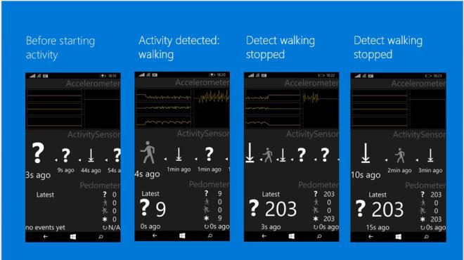 Windows 10 para móviles registrará la actividad física de los usuarios