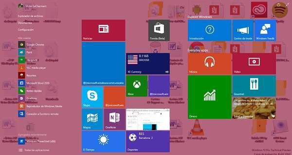 Windows 10 ha actualizado su asistente Cortada al idioma español