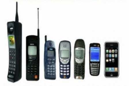 """Del """"bloque"""" al Iphone, como han evolucionado los móviles"""