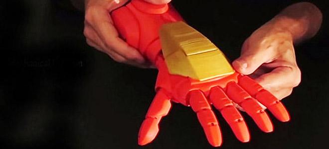 Crean prótesis de mano con impresora 3D
