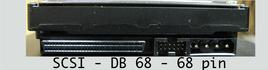 scsi db 68 pin