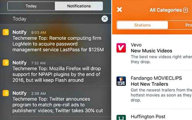Notify, la app de Facebook para competir con Twitter