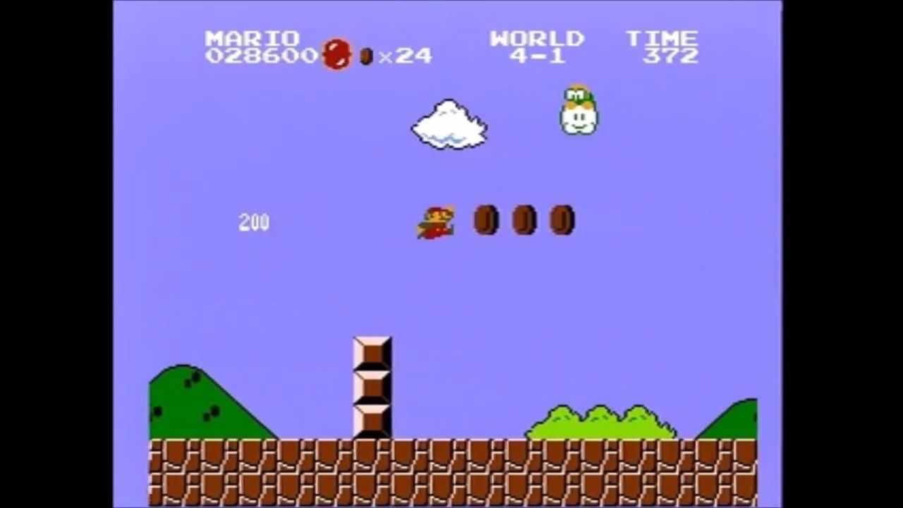 Nuevo récord de Super Mario Bros