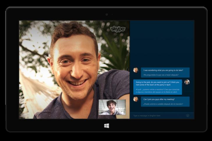 Skype Translator ofrecerá traducciones en voz y texto