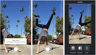 Instagram lanza app que convierte fotos en videos