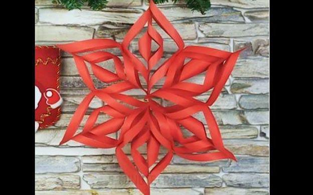 Facebook te enseña a decorar tu casa en navidad usando papel