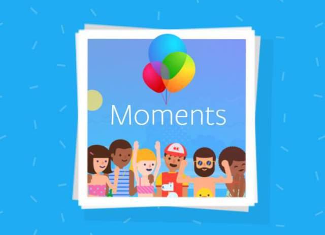 Facebook presenta una versión web ligera de Moments