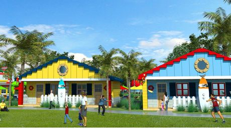 ¿Te vas de vacaciones? te gustaría una villa vacacional hecha de legos