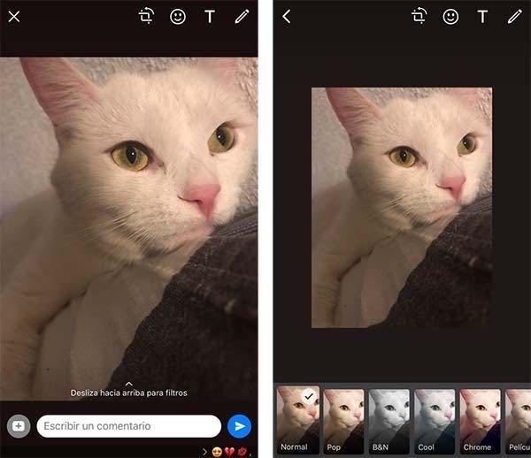 WhatsApp estrena filtros y álbumes para fotos en exclusiva para iPhone